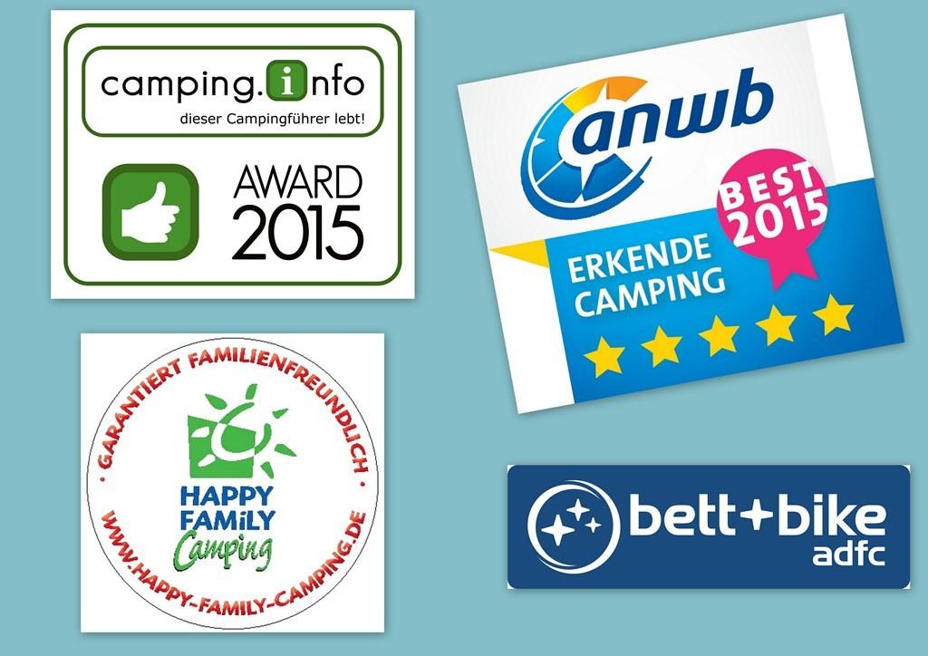 Auszeichnungen Campingplatz Bensersiel