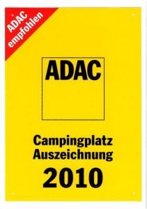 ADAC Campingplatz Auszeichnung
