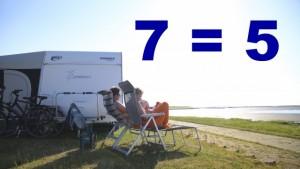 Angebot Camping 7 = 5