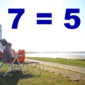 7 = 5 Bensersiel