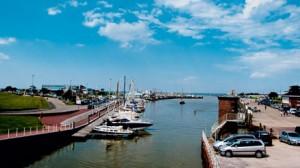Hafenbereich Bensersiel