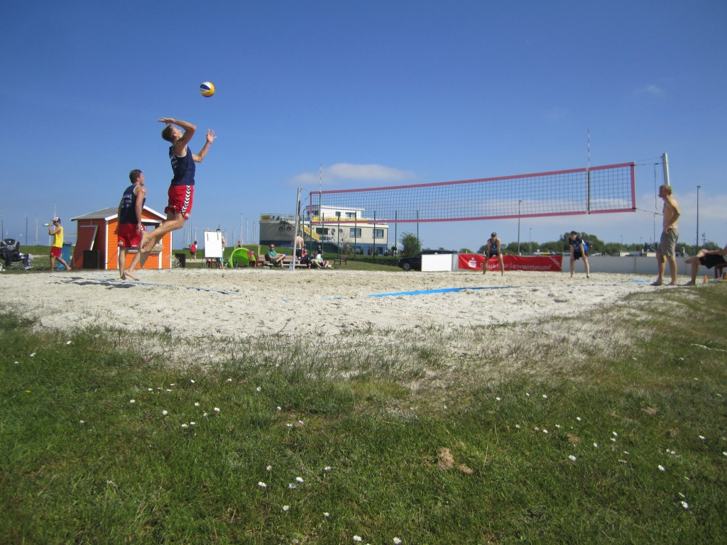 Beachvolleyball Bensersiel
