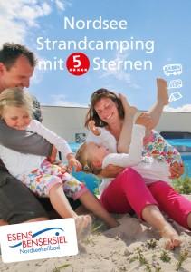 Broschüre Campingplatz Bensersiel Titelbild