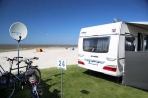 Camping mit Caravan