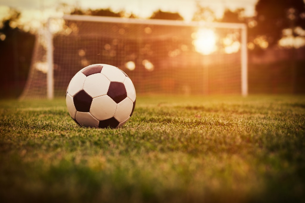 Fußball an der Nordsee
