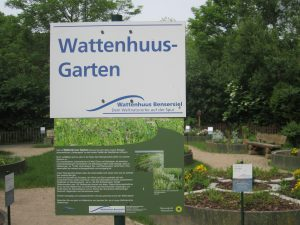 Wattenhuus-Garten Eingang