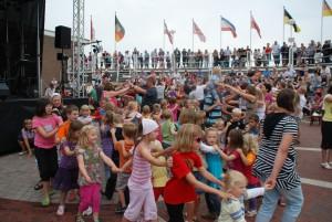 Kinderdisco Dorfplatz Bensersiel