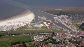 Luftbild Nordseeheilbad Bensersiel