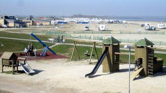 Spielplatz Campingplatz Bensersiel