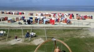 Spielplatz am Strand