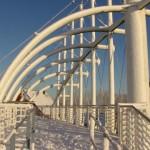 Deichbrücke Bensersiel