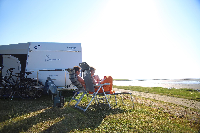 Stillleben Campingplatz
