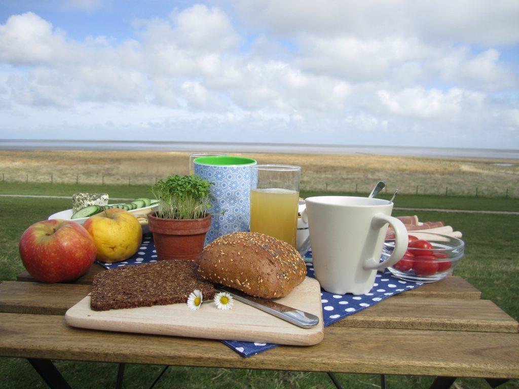 Frühstück am Watt