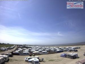 Webcam Campingplatz Bensersiel