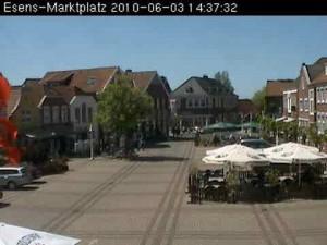 Webcam Marktplatz Esens