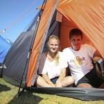 Camping mit dem Zelt in Bensersiel